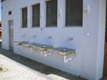 Umywalnia naczyń w Ekomarinie